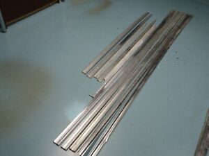1963 Ford Galaxie 500 Body Side Chrome Trim Molding Lot Of 10 Pieces