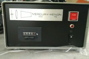 Mercury 100 Xenon 75 Power Supply 115vac 100 75w For Optiphot Microscope Arclamp
