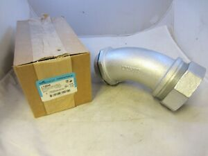 Crouse Hinds Lt35045 3 1 2 45 Degree Sealtight Connector Liquidtight 45