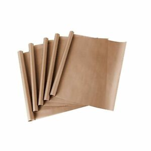 5 Pack Teflon Sheet For Heat Press Transfer Sheet Non Stick 16 X 20