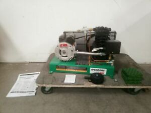 Speedaire 4b242a 2 Hp 1000 Pump Rpm 120vac 240vac Input Electric Air Compressor
