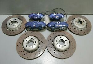 2015 2020 Bmw M2 M3 M4 F80 F82 F83 F87 M Brake Calipers And Rotors Kit Set Oem