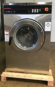 Used 2009 Speed Queen Sc40hn2 3ph 40lb On premise Laundry Commercial Washer