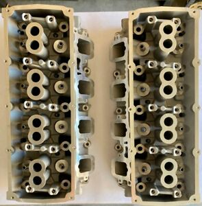 New Dodge 5 7 Hemi Cylinder Head Jeep Chrysler Durango Charger 03 08 Bare Pair