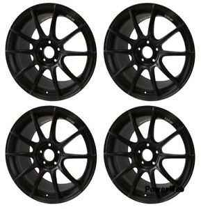 Ssr Gt X01 19x8 5 5x114 3 45 38 Flat Black From Japan 4 Rims Jdm Wheels