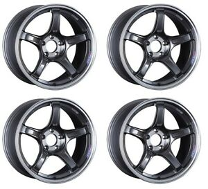 Ssr Gt X03 19x9 5 5x114 3 38 Machined Graphite Gm From Japan 4 Rims Jdm Wheels