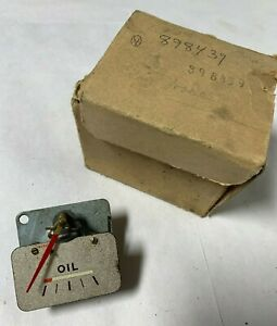 1941 Original New Old Stock Plymouth Oil Gauge