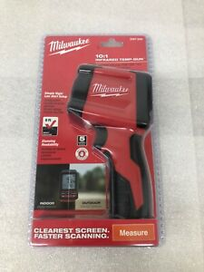 new Sealed Milwaukee 10 1 Infrared Thermometer Temperature Gun 2267 20h