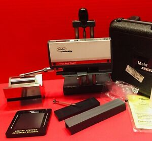 Mahr Federal Pocket Surf Iii Portable Surface Roughness Tester Profilometer