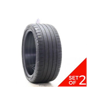 Set Of 2 Used 245 35zr18 Michelin Pilot Super Sport 92y 5 32