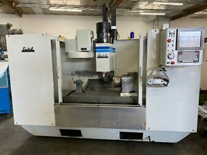 Fadal Vmc 4020 Ht 1989 Cnc Vertical Machining Center With 4th Axis