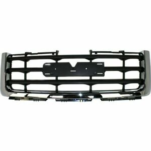 New Grille For 2007 2013 Gmc Sierra 1500 Gm1200573 22761792 Ships Today