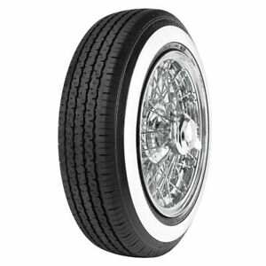 2 Tires Radar Dimax Classic 165r15 86h 3 4 Ww White Wall