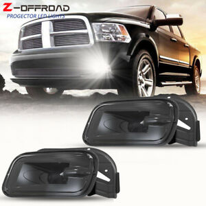 Fit For 2009 2012 Dodge Ram 1500 2500 3500 Pickup Truck Led Bumper Fog Lights