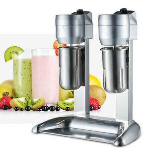 Commercial Milk Shake Machine Kitchen Electric Milkshake Mixer Drink Mix Blender
