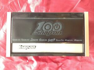 Snap On 100th Anniversary Mini Micro Top Chest Tool Box Rare Brand New
