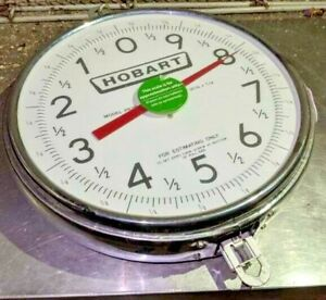 Hobart Pr30 1 Hanging Food Produce Scale Only Double Sided 30lb X 1oz