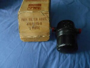 1957 Ford Thunderbird 2x4 Dual Quad Supercharged 312 Nos Fuel Filter Assy
