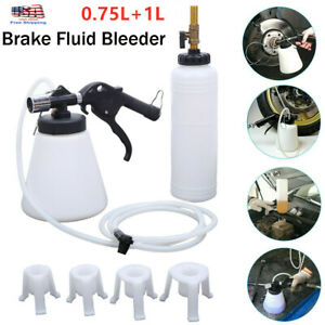 0 75 1l Pneumatic Car Brake Fluid Bleeder Bleeding Tool Brake Oil Replacement Us