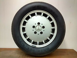 1992 Mercedes 300e Set Of 4 Rims With Tires 15 X 6 5 1244010802