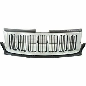 New Chrome Grille For 2011 2013 Jeep Grand Cherokee Ch1200341 Ships Today