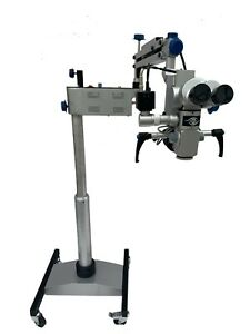 Ophthalmic Eye Operating Microscope 5 Step Magnification 90 Degree Ce 110 240v