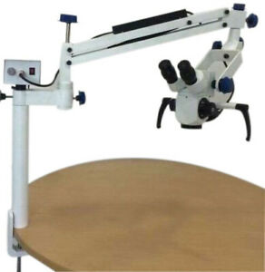 Dr onic Portable Ophthalmic Operating Microscope 5 Step 90 Degree 110 240v