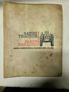 Satoh Tractor Parts Manual Book Catalog Binder S 550g