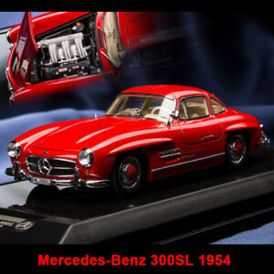 Dreampower 1 43 Scale Mercedes benz 300sl 1954 Red Car Model Limited 199pcs