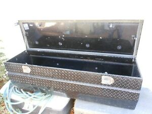 Uws Wedged Angled Utility Chest Truck Aluminum Tool Box 60 Inch Wide