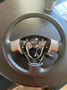 09 13 Toyota Corolla Leather Steering Wheel With Cruise Control Radio Controls
