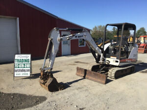 2005 Bobcat 331 Hydraulic Mini Excavator W Kubota Diesel Engine Cheap