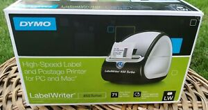 Dymo Labelwriter 450 Turbo Thermal Label Printer 1750283 New