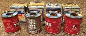 4 Kester Solid Wire 032 Dia Sb 5 Alloy