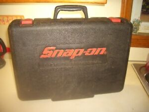 Snap On Cordless 18v 1 2 Impact Drill Case Only Pb165