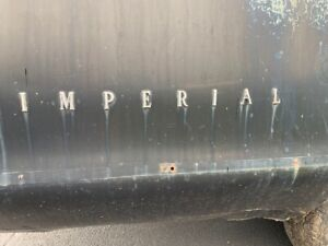 1971 1972 1973 Chrysler Imperial Lh Rh Rear Quarter Panel Emblems Oem Mopar