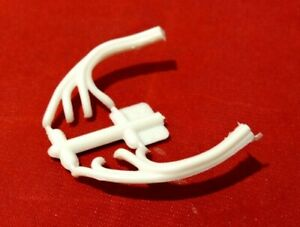 Model Car Parts Amt Chevy Bb 454 Engine Headers 1 25