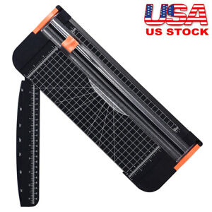 Heavy Duty Paper Cutter A4 Paper Trimmer Photo Guillotine Craft Machine Rotary