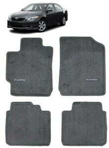 2007 2011 Camry Carpet Floor Mats Mat Set Gray Genuine Toyota Pt206 32100 12
