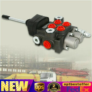 2 Spool Hydraulic Directional Control Valve 40l min For Tractor tractor Loader