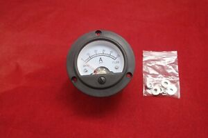1pc Ac 0 50a Round Analog Ammeter Panel Amp Current Meter Dia 66 4mm Dh52