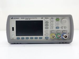 Keysight Used 53230a Universal Counter timer 350mhz 12digits s 20ps W 115 300