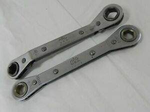 Mac Tool 2 Piece 6 Point Combination Double Box Ratcheting Wrench Set 2