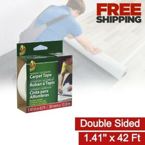 Double Sided Tape Carpet Fabric Runners Hardwood Tile Flooring Rugs Adhesive