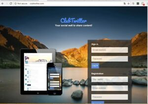 Twitter Clone Social Net Work Website With One Year Cpanel Hosting