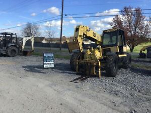 1997 Caterpillar Th63 6000lb Telescopic Forklift Needs Work Read Description