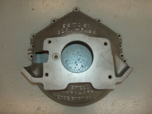 Vintage Ansen Wedge Chevy V8 Bbc Sbc Scatter Shield Blow Proof Bell Housing