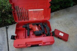 Hilti Te5 Rotary Concrete Hammer Drill 115v Electric 1100rpm Inc Case Bits