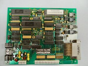 Varian Extrion Pn E15001650 Rev 5 24 Digital Output Board Bar Code 149500518