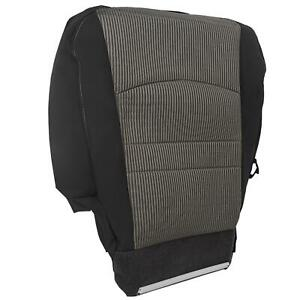 For 2009 2012 Dodge Ram 1500 Slt Driver Side Bottom Cloth Seat Cover Gray